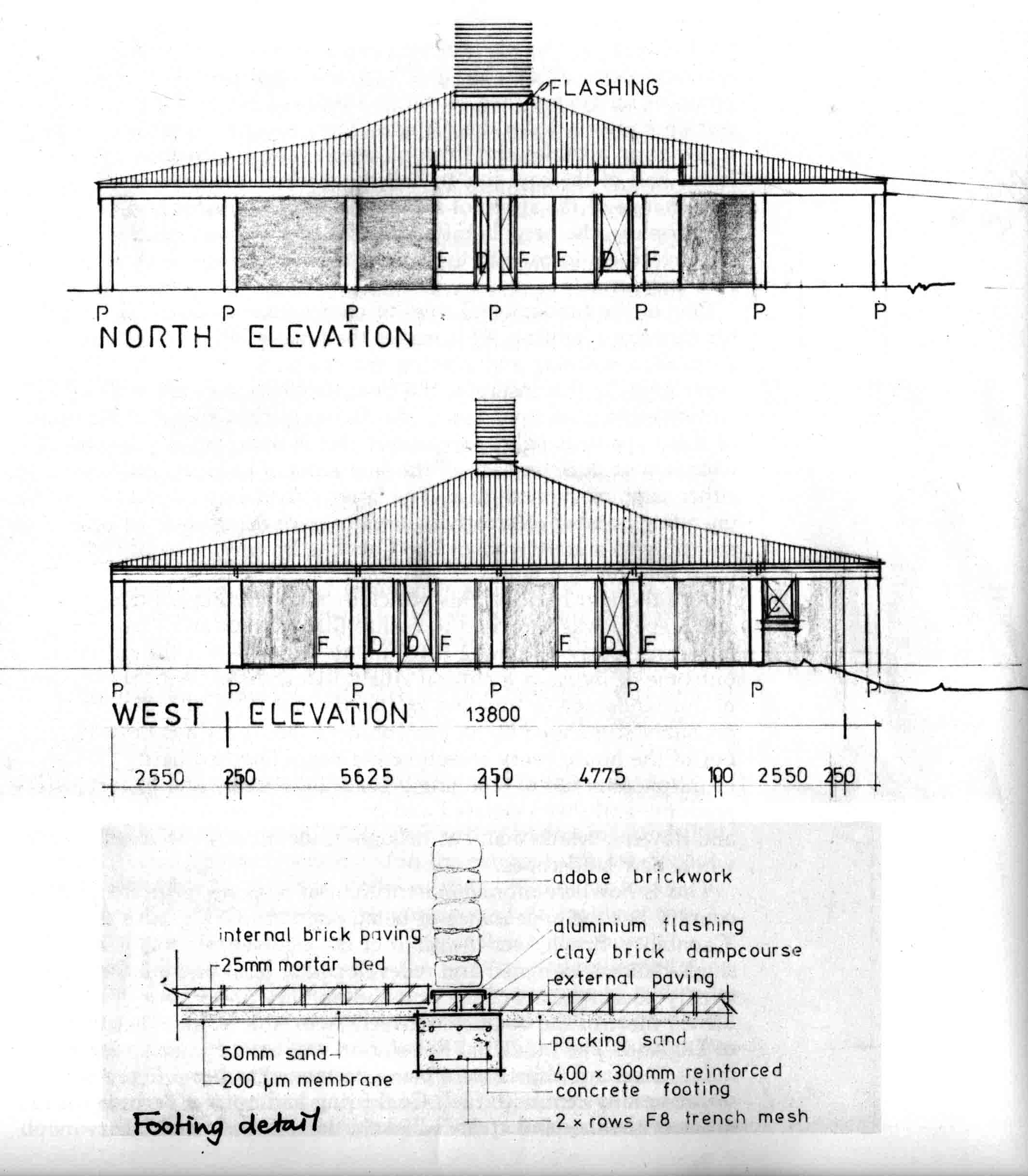 Rendering of the Laversha house