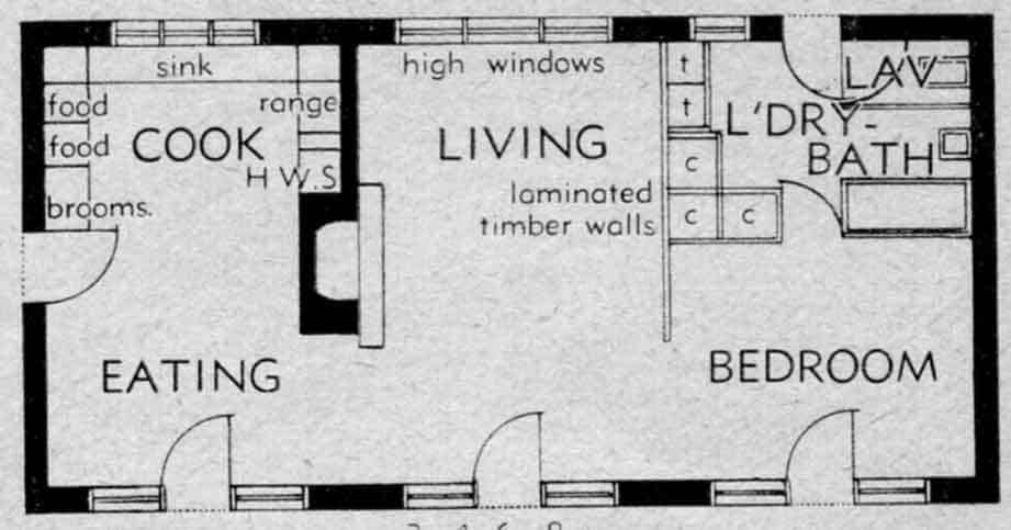 Plan of Buckney's house