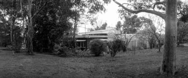Pyke house Templestowe 3106 VIC. Designed by Alistair Knox plan dated July 1951 job number 135