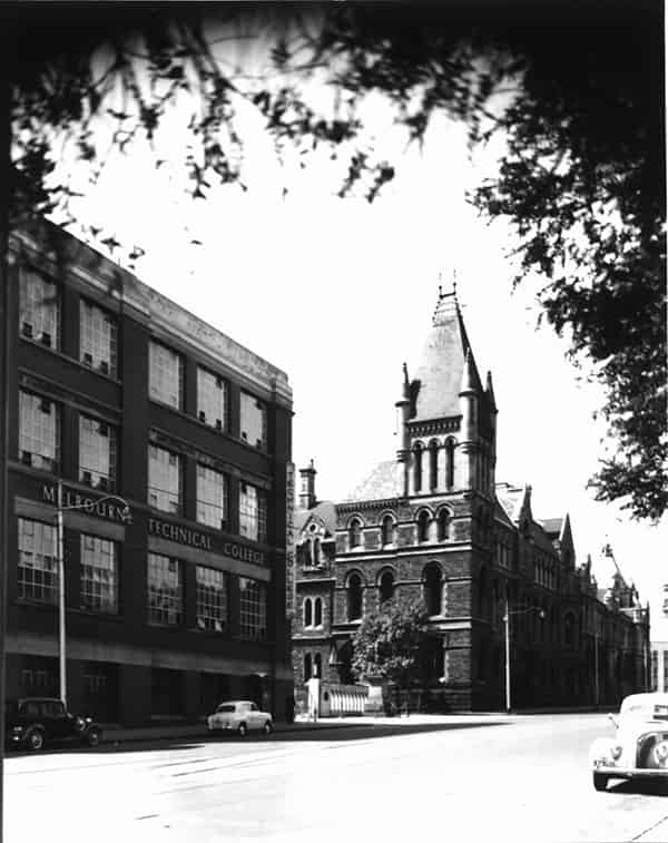Melbourne Technical College circa 1950