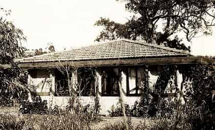 Pholiota the house Griffin built himself and Marion Walter Burley Griffin