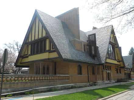 Nathan G. Moore House, Oak Park, Illinois (1895)