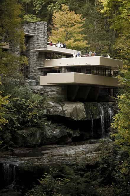 Fallingwater, Mill Run, Pennsylvania (1937)