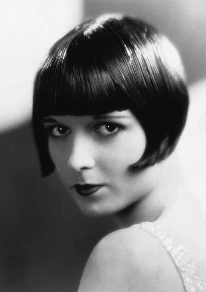 The bobbed hairstyle of the 1920s